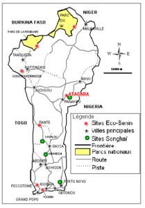 Carte éco-villages