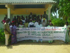 Renforcement des accompagnateurs et guides d'écotourisme à Avlo et Adounko