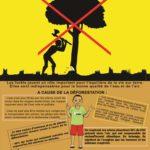 Poster halte a la deforestation