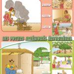 Poster Foyer Wanrou pour une cuisson economique pour un sain