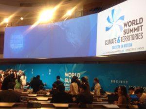 Eco-Benin au sommet Climat et Territoires à Lyon 2015