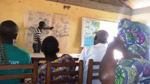 Cartographie participative en vue de la création de la Réserve de la Bouche du Roi