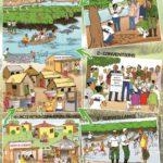 Poster sensibilisation sur creation Reserve Delta Mono-Eco-Benin 2015