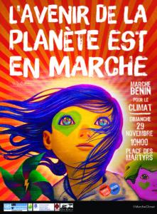 Marche Béninoise pour le Climat à Cotonou le 29 novembre à 10h