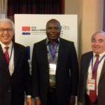 Un moment avec le Directeur executif de l'OMT et le président de l'OITS