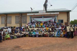 Journée Internationale de la Femme : la commune de Ouaké a abrité les manifestations avec les femmes bénéficiaires des Foyers Wanrou