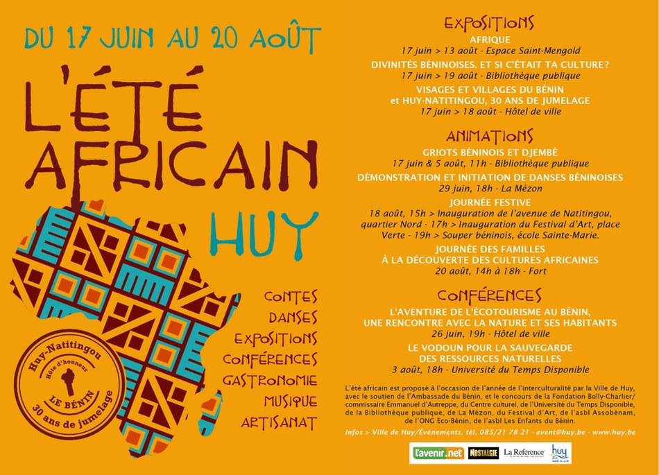 L'été africain à Huy met le Bénin à l'honneur