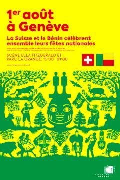 la Ville de Genève célèbrera les fêtes nationales de la Suisse et du Bénin