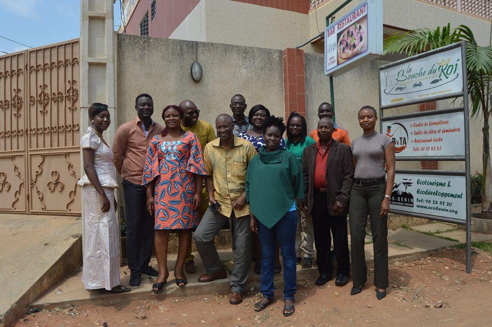 Le Conseil Régional des Hauts-Bassins du Burkina-Faso en visite officielle de travail et d'échanges avec l'équipe de l'ONG Eco-Benin.