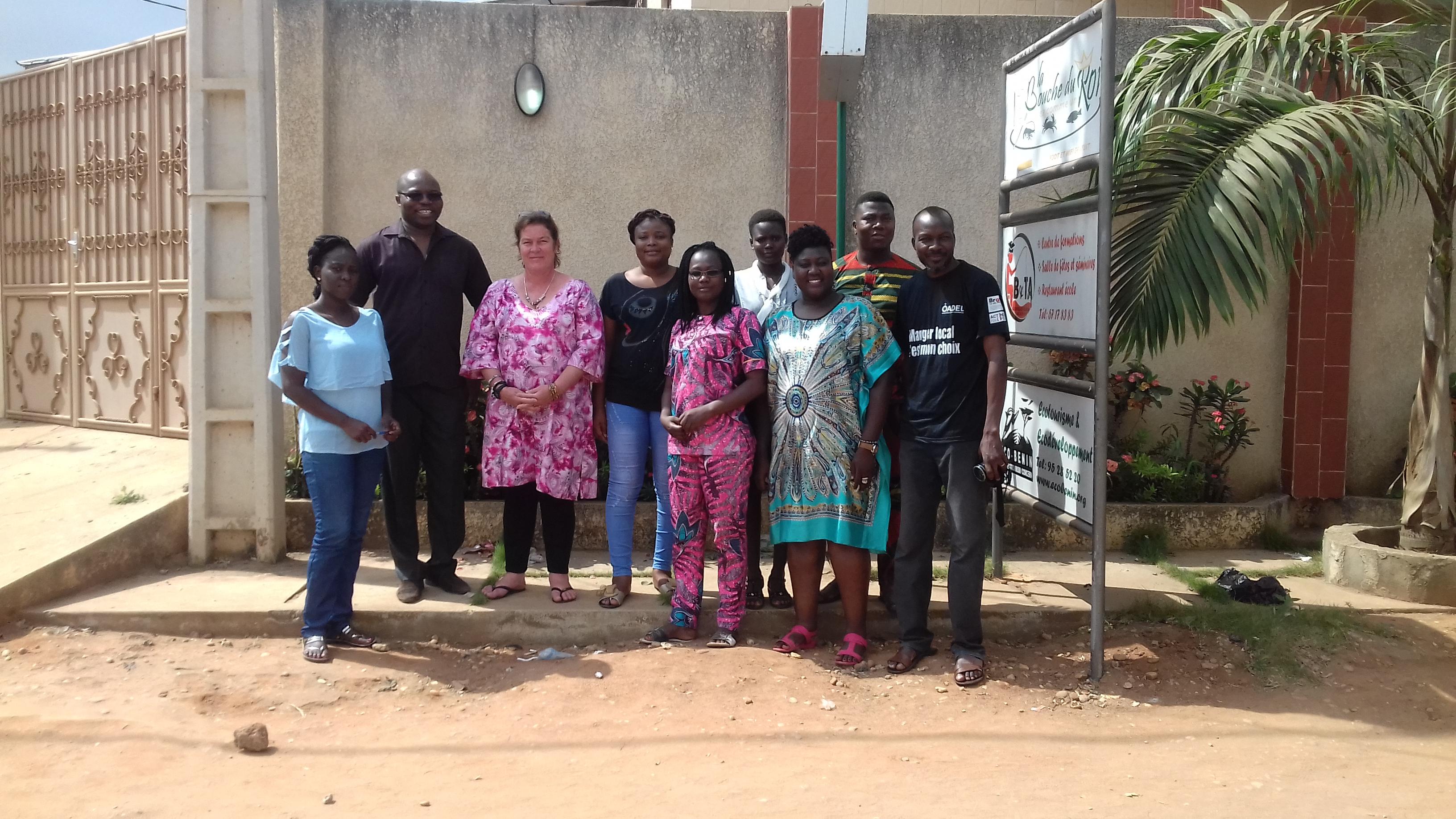 Tourisme responsable et développement économique : la vice-présidente de l'Association Tourism for Help en visite de travail à Eco-Bénin