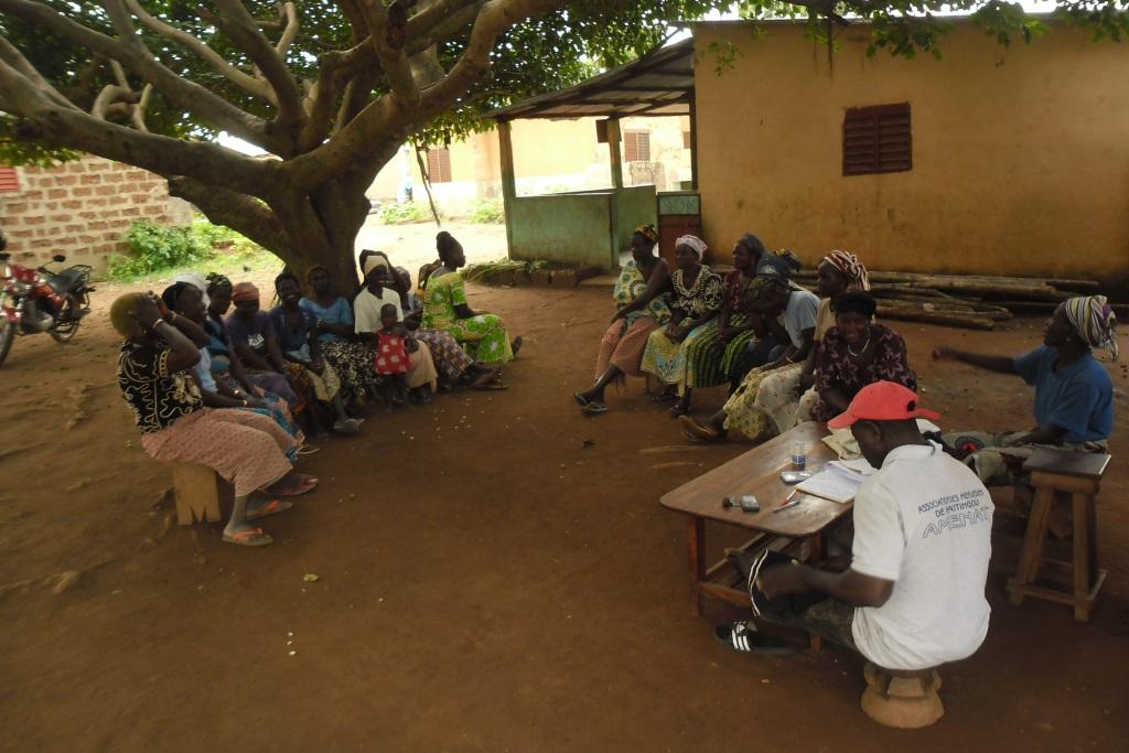 Une approche inclusive d'autonomisation des femmes rurales face aux changements climatiques.