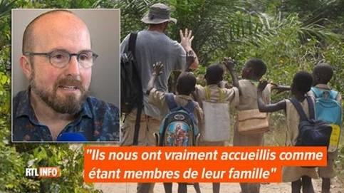 RTL INFO : Jean a réalisé un voyage solidaire avec Eco-Benin