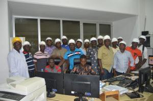 Gestion intégrée du Fleuve Mono, les élus communaux et OSC du Bénin en visite sur le barrage Nagbéto et à la CEB