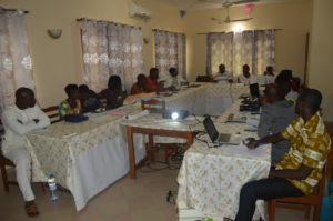 Eco-Benin Team à l'ombre du sanctuaire de la grotte mariale pour son bilan annuel