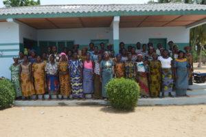 Des groupements de femmes de l'Aire communautaire la Bouche du Roy formés en gestion économique et financière