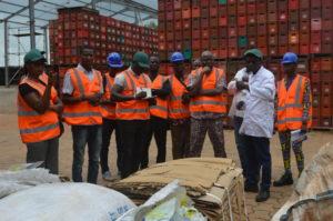 Protection des biens publics mondiaux : Une délégation de la société civile visite l'usine de la SOBEBRA à Possotomè.