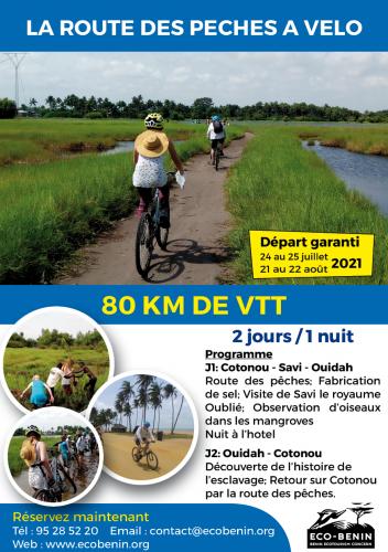 Départ garanti : Week-end VTT sur la route des pêches