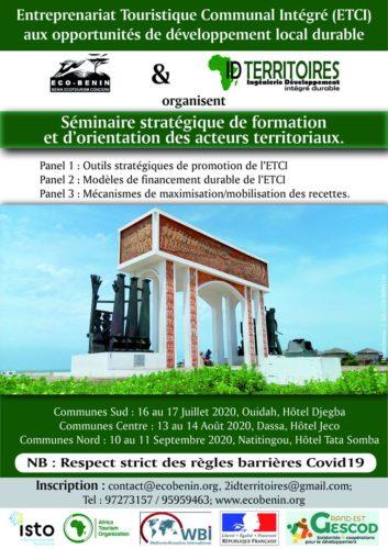 Séminaire stratégique de formation et d'orientation des acteurs territoriaux