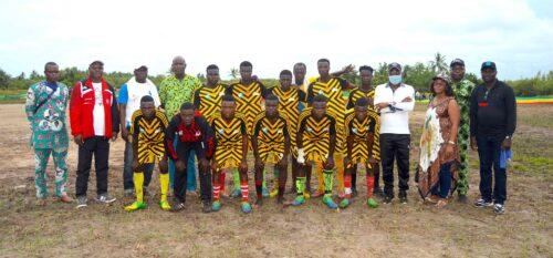 Football et Biodiversité : Eco-Bénin apporte son soutien au « Tournoi de détection des talents » dans le site de la Bouche du Roy