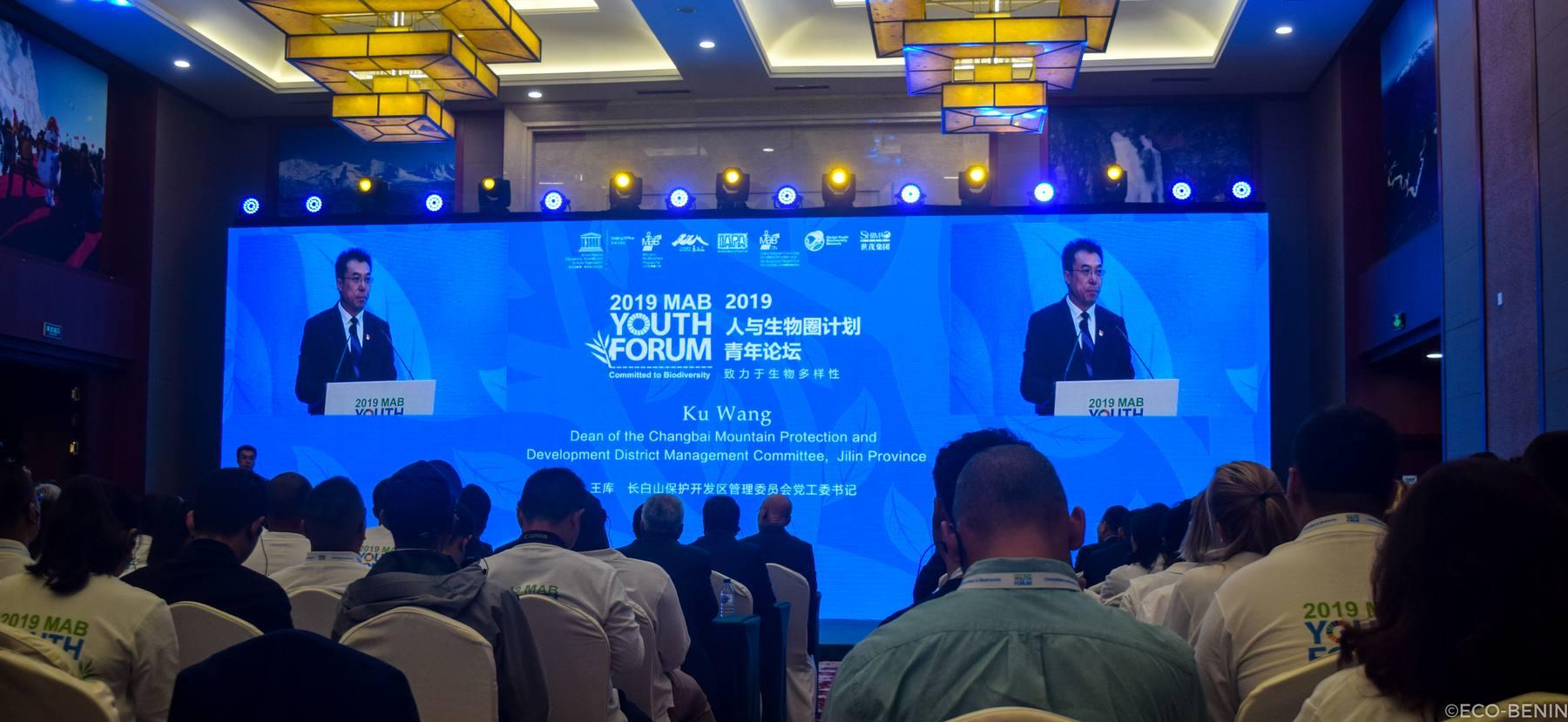 MAB Youth Forum 2019 : l'ACCB-Bouche du Roy représente le Bénin en Chine