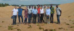 Une délégation néerlandaise en visite dans la Bouche du Roy
