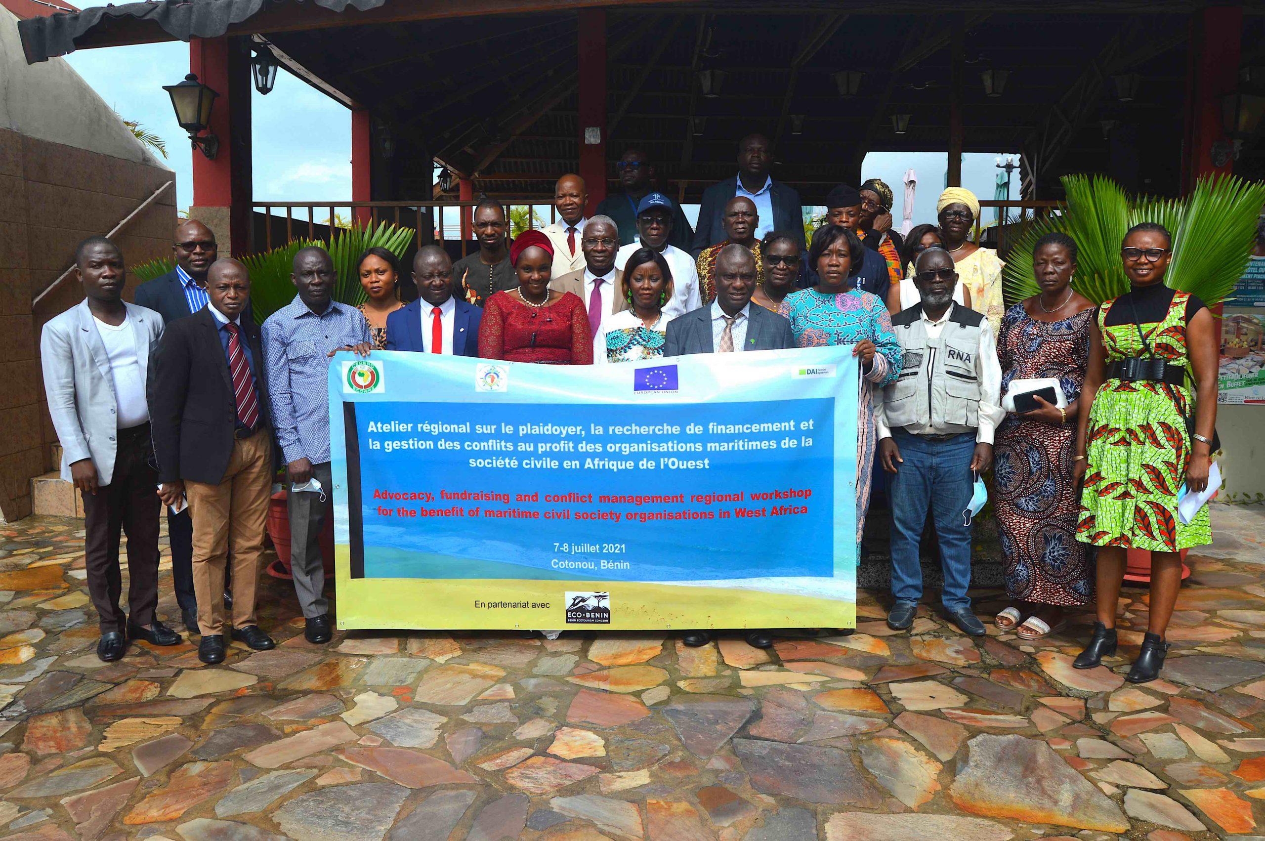 CEDEAO – UE: Sûreté maritime, le projet SWAIMS engage la société civile à jouer son rôle