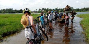 La route des pêches à vélo : 2 jours / 1 nuit